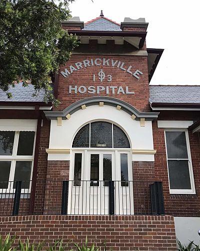 MARRICKVILLE LIBRARY & COMMUNITY HUB - MARRICKVILLE NSW